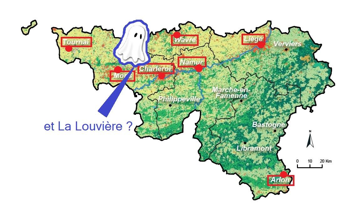 La Louvière sera-t-elle « pôle » majeur du développement territorial wallon ?